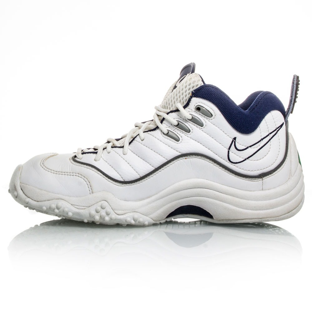 White And Blue Jason Kidd Shoes